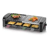 Appareil A Raclette SEVERIN RG9645 Appareil a raclette 8 personnes - Noir