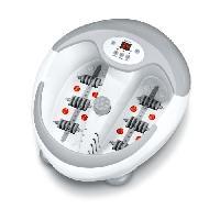 Appareil De Massage - Coussin De Massage BEURER- FB 50- Balnéothérapie Thalasso pieds et massage - Blanc - 400 watts