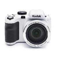 """Appareil Photo Numerique Bridge KODAK AZ421 Appareil photo numérique - Zoom optique 42x - Grand angle 24 mm - Ecran 3"""" LCD - 16 MP - Blanc"""