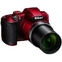 "Appareil Photo Numerique Bridge NIKON COOLPIX B600 Appareil photo Bridge 16Mp CMOS 60x. 3.0"" VGA - Rouge"