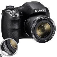 Appareil Photo Numerique Bridge SONY DSC-H300 - CCD 20 MP Zoom 35x Appareil photo numerique Bridge