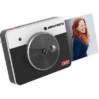 Appareil Photo Numerique Compact AGFA ASQS33BK Mini Appareil photo imprimante Realipix Square S - 2en1 - 33 - Noir