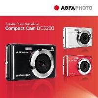 Appareil Photo Numerique Compact AGFA PHOTO - Appareil Photo Numerique Compact Cam DC5200 - Rouge