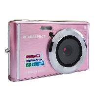 Appareil Photo Numerique Compact AGFA PHOTO Realishot DC5200 - Appareil Photo Numerique Compact -21 MP. 2.4'' LCD. Zoom Digital 8x. Batterie Lithium- Rose