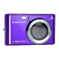 Appareil Photo Numerique Compact AGFA PHOTO Realishot DC5200 - Appareil Photo Numerique Compact -21 MP. 2.4'' LCD. Zoom Digital 8x. Batterie Lithium- Violet