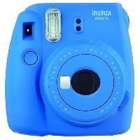 Appareil Photo Numerique Compact Appareil instantane Instax Mini 9 Bleu Cobalt