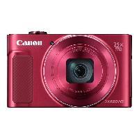 Appareil Photo Numerique Compact CANON PowerShot SX620 Rouge - Appareil photo numerique Compact