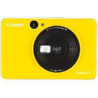 Appareil Photo Numerique Compact CANON Zoemini C Appareil photo instantané - 5 Mp - Jaune Tournesol