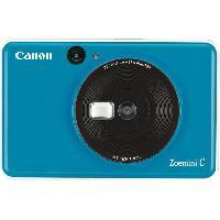 Appareil Photo Numerique Compact CANON Zoemini C Bleu Ocean - Appareil photo instantane - 5MP