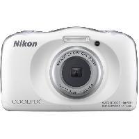 Appareil Photo Numerique Compact COOLPIX W150 blanc - Nikon