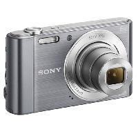 Appareil Photo Numerique Compact DSC-W810 Compact Silver - CCD 20 MP Zoom 6x