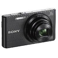 Appareil Photo Numerique Compact DSC-W830 Compact Noir - CCD 20 MP Zoom 8x