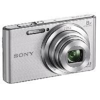 Appareil Photo Numerique Compact DSC-W830 Compact Silver - CCD 20 MP Zoom 8x