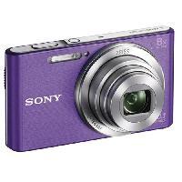 Appareil Photo Numerique Compact DSC-W830 Compact Violet - CCD 20 MP Zoom 8x