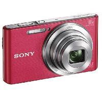 Appareil Photo Numerique Compact DSCW830P Appareil photo numerique compact 20.1 megapixels - Rose