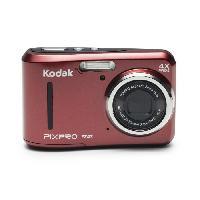 Appareil Photo Numerique Compact KODAK FZ43 Rouge - Appareil photo Compact