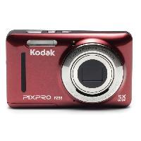 Appareil Photo Numerique Compact KODAK Pixpro - FZ53 - Appareil Photo Numerique Compact 16 Megapixels - Rouge