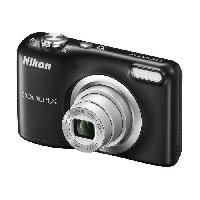 Appareil Photo Numerique Compact NIKON COOLPIX A10 - 16Mp - 5x. 2.7 230 000 pixels - piles AA - etui Noir