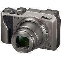 Appareil Photo Numerique Compact NIKON COOLPIX A1000 Appareil photo compact 16Mp CMOS 35x. 3.0 1036k Tilt TP. 4k. EVF - Argent