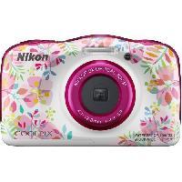 "Appareil Photo Numerique Compact NIKON COOLPIX W150VQA113EA - 13Mp CMOS -3x. 2.7"" - QVGA. 1080p - Water Proof - Shock Proof - WIFI"