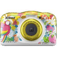 "Appareil Photo Numerique Compact NIKON COOLPIX W150VQA114EA - 13Mp CMOS -3x. 2.7"" - QVGA. 1080p - Water Proof - Shock Proof - WIFI"