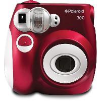 Appareil Photo Numerique Compact PIC300 Rouge Appareil photo instantane compact