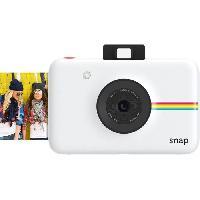 Appareil Photo Numerique Compact POLSP01WFNC Appareil photo numerique instantane Polaroid - 10 films inclus - Blanc