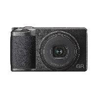 Appareil Photo Numerique Compact RICOH GR III Appareil photo Compact expert - 24.24 MP - Video Full HD - Wi-Fi et Bluetooth - Noir