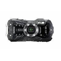 Appareil Photo Numerique Compact RICOH WG 50 Noir - Compact outdoor 16 MP + Etui Neoprene