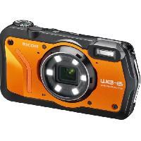 Appareil Photo Numerique Compact RICOH WG6 Appareil photo Compact outdoor - 20 MP - Vidéo 4K - Orange