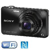 Appareil Photo Numerique Compact SONY DSC-WX220 Noir - CMOS 18 MP Zoom 10x Appareil photo numérique Compact