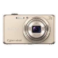 Appareil Photo Numerique Compact SONY DSC-WX220 Or - CMOS 18 MP Zoom 10x Appareil photo numérique Compact