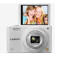 Appareil Photo Numerique Compact SZ10 blanc - CCD 16 Megapixels Appareil photo numerique Compact