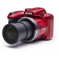 Appareil Photo Numerique Hybride AZ365 Appareil photo numerique Bridge - 16 megapixels - Grand angle 24 mm - Rouge