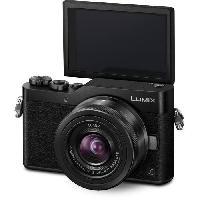 Appareil Photo Numerique Hybride PANASONIC GX800 Hybride + Optique 12-32- Capteur MOS 4-3 16MP 4K - Noir