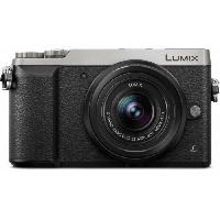 Appareil Photo Numerique Hybride PANASONIC Lumix GX80 Appareil photo Hybride 16 Mp + Optique 12-32mm - Argent et Noir