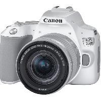 Appareil Photo Numerique Reflex CANON 250D Appareil photo Reflex + Objectif 18-55 IS STM - Blanc