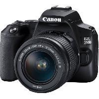 Appareil Photo Numerique Reflex CANON 250D Appareil photo Reflex + Objectif 18-55 IS STM - Noir
