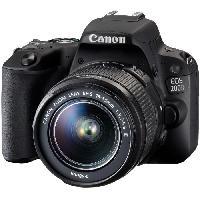 Appareil Photo Numerique Reflex EOS 200D + objectif EF-S 18-55mm f3.5-5.6 III DC Appareil photo numerique Reflex avec objectif EF-S 18-55mm f3.5-5.6 III DC