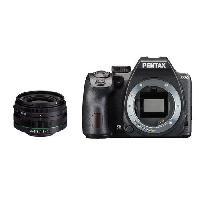 Appareil Photo Numerique Reflex PENTAX Appareil photo Reflex K-70 - 24 MP - WiFi + Objectif 18-50mm RE - Noir