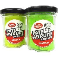 Appat - Attractif Animaux 2 pots de pates a Truite Pailletees