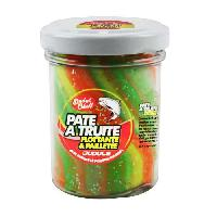 Appat - Attractif Animaux DUDULE Pate a Truite Flottante Pailletee Rainbow