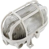 Applique Exterieure ELRO Applique de securite avec grille de protection - Blanc