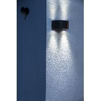 Applique Exterieure GALIX Applique murale solaire G9 moderne et tres eclairante - 50 lumens