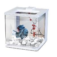 Aquarium MARINA Aquarium Ez Care pour betta - 2.5 L - Blanc