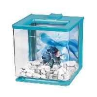 Aquarium MARINA Aquarium Ez Care pour betta - 2.5 L - Bleu