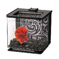 Aquarium MARINA Aquarium Ez Care pour betta - 2.5 L - Noir