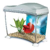 Aquarium MARINA Kit aquarium pour betta - 6.7 L - Blanc