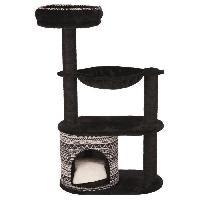 Arbre A Chat TRIXIE Arbre a chat Giada 112cm - Noir et blanc - Pour chat