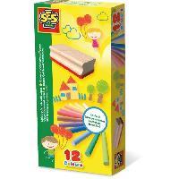 Ardoise Enfant - Ardoise Magique SES CREATIVE 12 Craies colorees avec effaceur